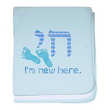 Chai, I'm new here! baby blanket