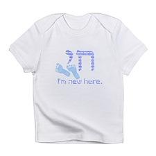 Chai, I'm new here! Infant T-Shirt