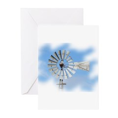 Windmill Greeting Cards (Pk of 10)