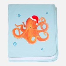 Christmas - Octopus baby blanket