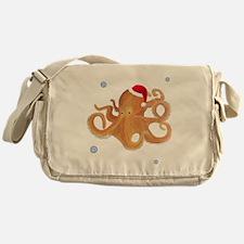 Christmas - Octopus Messenger Bag