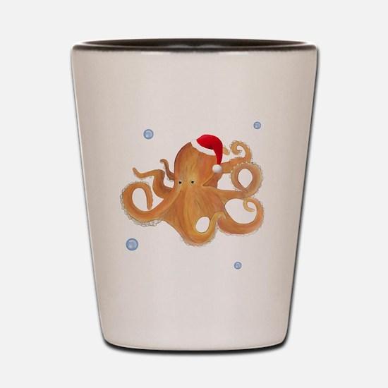 Christmas - Octopus Shot Glass
