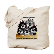 Spay Neuter Litter Tote Bag