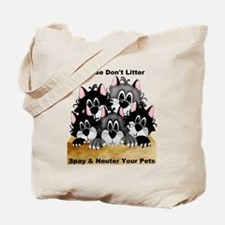 Spay Neuter Litter Tote Bag