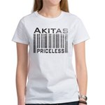 Akita Priceless Weathered Barcode Women's T-Shirt