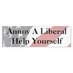 Annoy A Liberal Sticker (Bumper 10 pk)