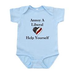 Annoy A Liberal Infant Bodysuit