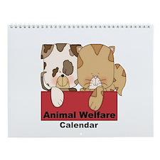 Animal Welfare Wall Calendar