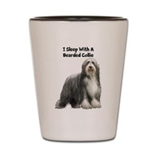 Bearded Collie Shot Glass
