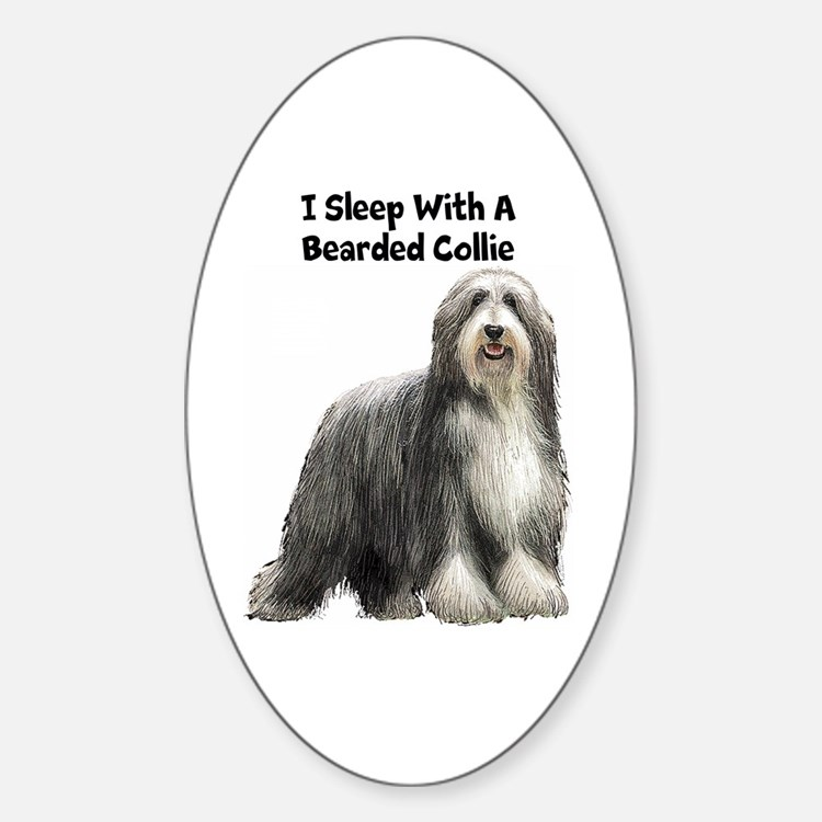 Bearded Collie Decal
