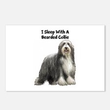 Bearded Collie Postcards (Package of 8)