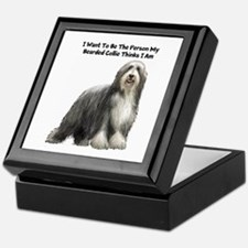 Bearded Collie Keepsake Box