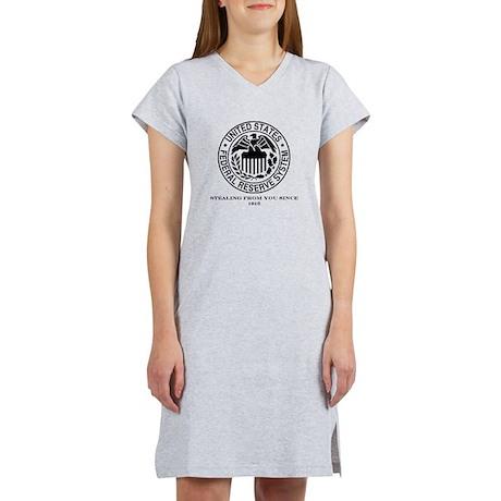 Federal Reserve Women's Nightshirt
