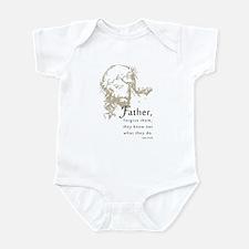 """Father Forgive Them"" Infant Bodysuit"