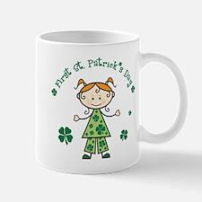 Girl 1st St Patricks Mug
