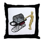 Cleaning New Barbeque Throw Pillow