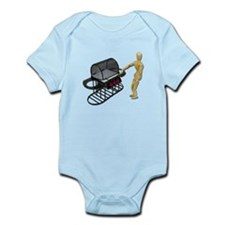 Cleaning New Barbeque Infant Bodysuit
