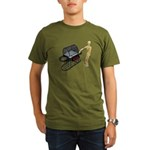 Cleaning New Barbeque Organic Men's T-Shirt (dark)