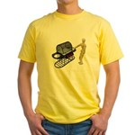 Cleaning New Barbeque Yellow T-Shirt