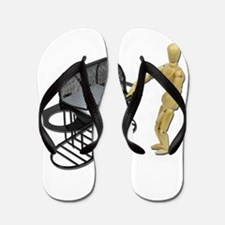 Cleaning New Barbeque Flip Flops