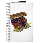 Colorful Pirate Treasure Gold Journal