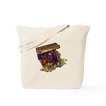 Colorful Pirate Treasure Gold Tote Bag