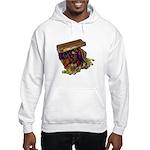 Colorful Pirate Treasure Gold Hooded Sweatshirt