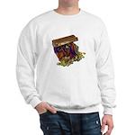 Colorful Pirate Treasure Gold Sweatshirt