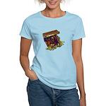 Colorful Pirate Treasure Gold Women's Light T-Shir