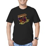 Colorful Pirate Treasure Gold Men's Fitted T-Shirt
