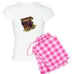 Colorful Pirate Treasure Gold Women's Light Pajama