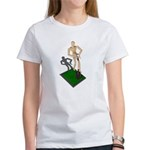 Digging Shovel in Grass Women's T-Shirt