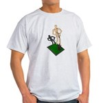 Digging Shovel in Grass Light T-Shirt