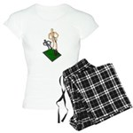 Digging Shovel in Grass Women's Light Pajamas