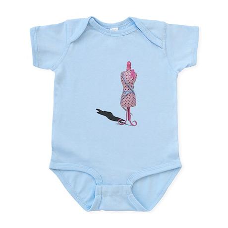 Dress Form Measuring Tape Infant Bodysuit
