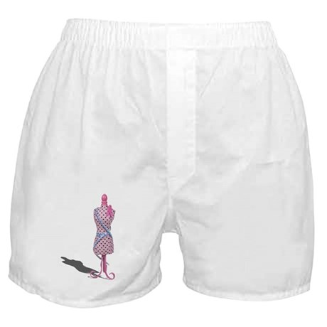 Dress Form Measuring Tape Boxer Shorts