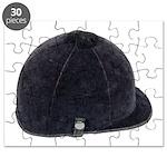 Equestrian Helmet Puzzle