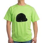 Equestrian Helmet Green T-Shirt