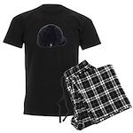 Equestrian Helmet Men's Dark Pajamas