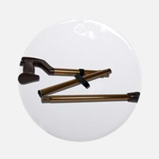 Folding Cane Ornament (Round)