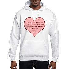 Geek Valentine Hoodie