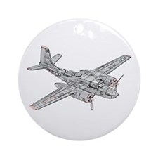 Douglas B-26 Invader Ornament (Round)