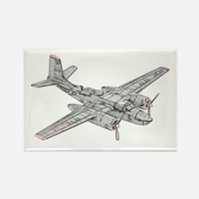 Douglas B-26 Invader Rectangle Magnet