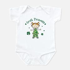 Irish Princess Stick Figure Infant Bodysuit