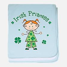 Irish Princess Stick Figure baby blanket