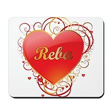 Reba Valentines Mousepad
