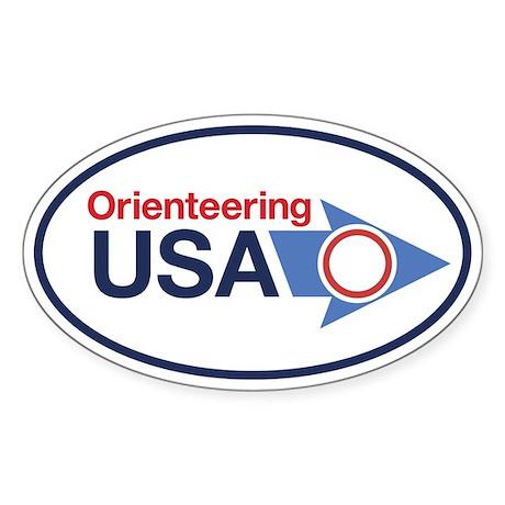 OUSA Sticker (Oval)