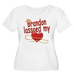 Brandon Lassoed My Heart T-Shirt