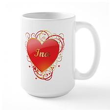 Ina Valentines Ceramic Mugs