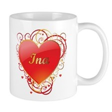 Ina Valentines Small Mugs
